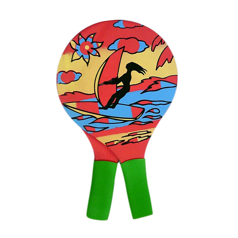 2PCS/ Pair Grip Cricket Tennis Rackets Beach Tennis Racket For Outdoor Sport With 4pcs Cricket  EDF88