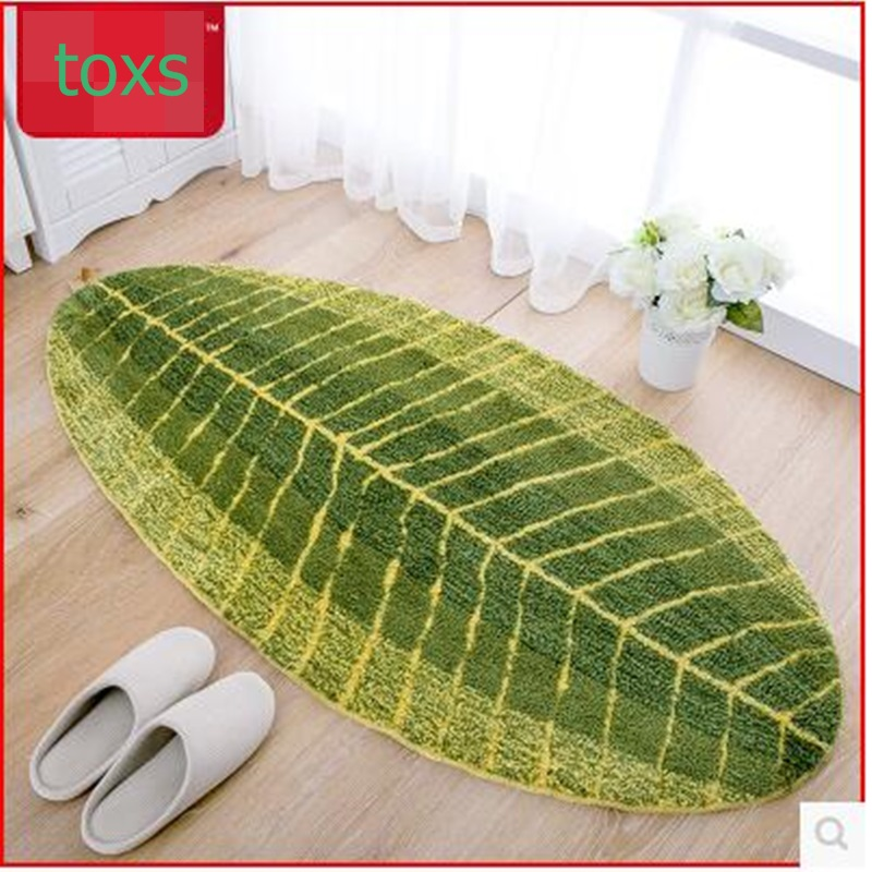 웃 유Ultrafine fiber banana leaf mat kitchen floor mats carpet ...