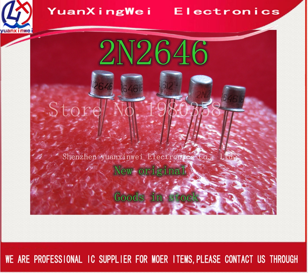 5PCS/LOT 2N2646 CAN NEW IN STOCK IC5PCS/LOT 2N2646 CAN NEW IN STOCK IC