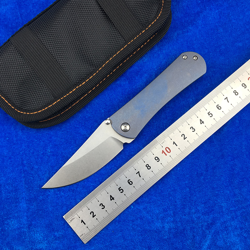 LEMIFSHE N0232 Flipper folding knife pocket Gift knives D2 blade Titanium handle ball bearing Outdoor camping hunting EDC toolLEMIFSHE N0232 Flipper folding knife pocket Gift knives D2 blade Titanium handle ball bearing Outdoor camping hunting EDC tool