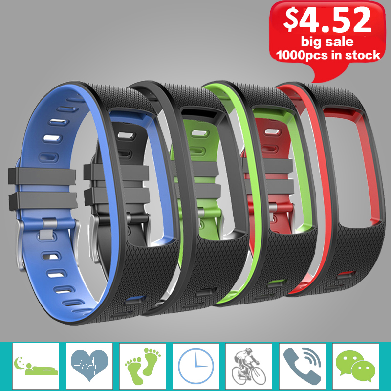 iwown I6 HR C Strap Silicone Bracelet Strap for iwown I6 HR C Wristband Smart Fitness Tracker Accessory Replacement Strap. стоимость