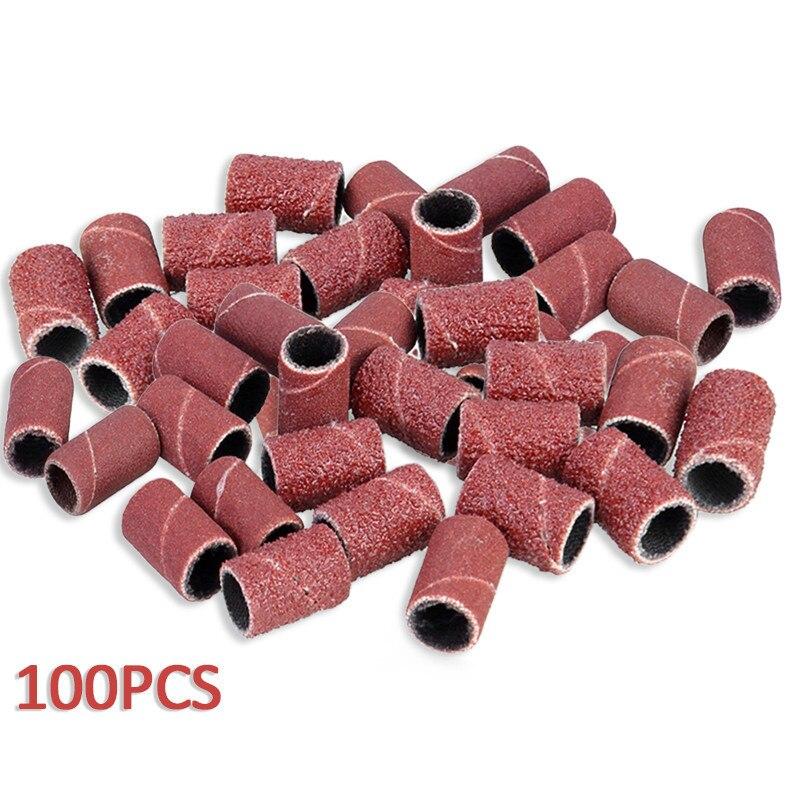 100pcs Aluminium Oxide Sanding Bands 80
