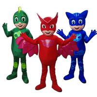 cosplay New Mascot Costumes Parade PJ Mascot mascot costumes Birthdays High Quality Mascot Cosplay Costumes with free shipping