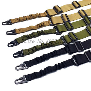 Image 5 - Mayitr הצבאי Heavy Duty אקדח חגורת רצועת טקטי 2 נקודות ניילון בנג י רובה קלע חיצוני אקדח אבזרים