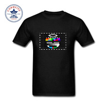 2017 Hot sale Fashion Clothes Casual TV Comic Science Geek Cotton funny t shirt for men short sleeve