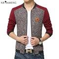 2016 New Fashion Brand Jacket Men Baseball Jacket Fashion Patchwork Manteau Homme Spring And Autumn Sportswear Men Coats 13M0625