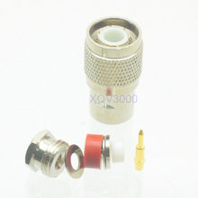 1pce Conector TNC plugue macho braçadeira pino para RG174 RG316 LMR100 RF COAXIAL