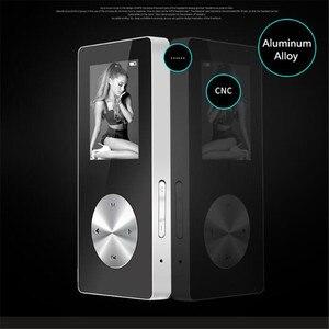 """Image 5 - 1.8 """"bezprzewodowy odtwarzacz Bluetooth HiFi HD MP3 MP4, bezstratny bas radiowy Mic słuchawki, szybkie ładowanie kabla USB, głośnik nagrywanie FM i gniazdo TF"""
