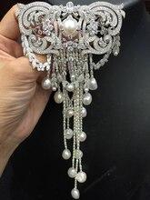 Брошь с натуральным пресноводным жемчугом из серебра 925 пробы с кистями из кубического циркония, высококачественные ювелирные изделия с китайским рисунком