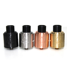 Authentic 528 Custom Vapes Goon RDA 24mm Atomizer Tank Black Brass Copper Silver Electronic Cigarettes Vaporizer