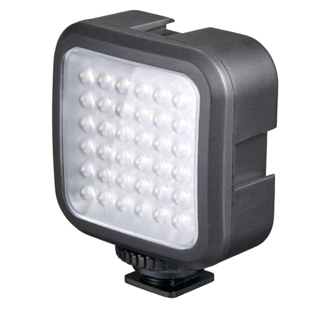 F14114 Professional Super Bright 36 LED 4W 6400K White Lamp Fill Light for HERO3/3+/4/5 SJ4000 Sport Camera Camcorder FS