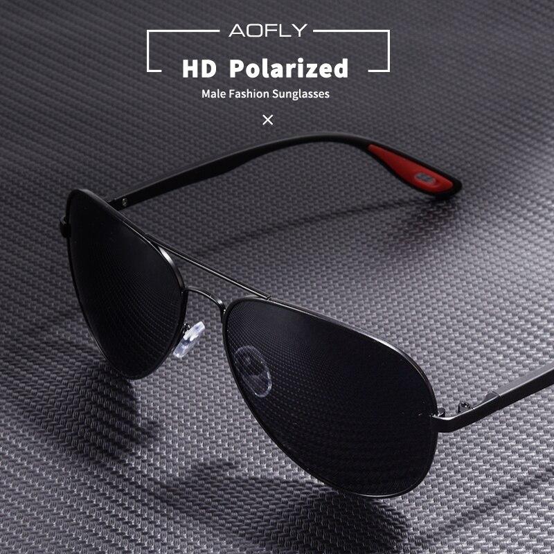 c5517c025c9e6 VEITHDIA de los hombres de la marca cuadrados Vintage gafas de sol  polarizadas UV400 lente gafas