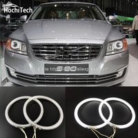 HochiTech Excellent CCFL Angel Eyes Kit Ultra Bright Headlight Illumination For Volvo S80 S80L 2012 2013