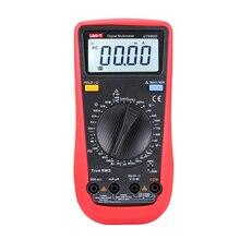 Multímetro Digital UT890D de UNI T, valores eficaces auténticos, multímetro de Frecuencia AC/DC, multímetro amperímetro