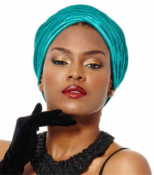 5 pieces Wholesales Women Fashion Hijab Turban Head Wrap Scarf Tie Extra Long Velvet Turban - DISCOUNT ITEM  17% OFF Apparel Accessories
