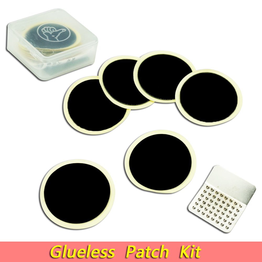 1Set Cycling Bicycle Bike Race Fast Quick Repair Fix Kit Flat Rubber Tire Tyre Tube Patch Mend Glueless Patch Kit tools Portable pack of 10 furniture chest drawer bottom sagging repair fix mend mending wedges