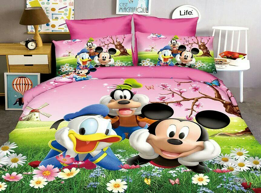 Mickey Mouse Donald Duck Bedding Set Children S Baby