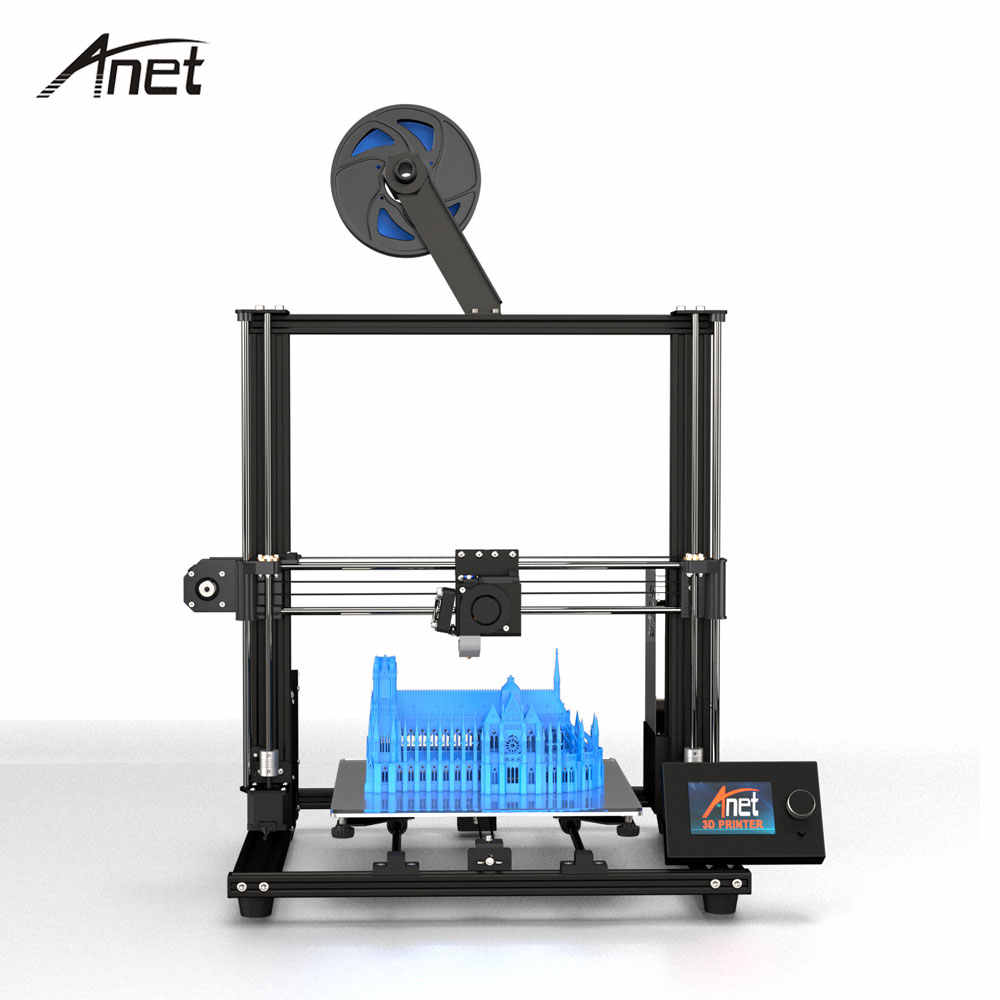 photo about Anet A8 Printable Upgrades identified as 2019 Anet A8 In addition Upgraded variation Do-it-yourself 3D Printer Large Accuracy Steel Desktop Impresora 3D Printer 300 x 300 x 350mm PK Anet A8