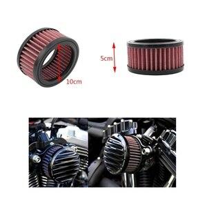 Мотоцикл воздушный фильтр Мотоцикл Универсальный Замена очиститель Впускной фильтр для Harley Sportster XL883 XL1200 X48 2004 -2018