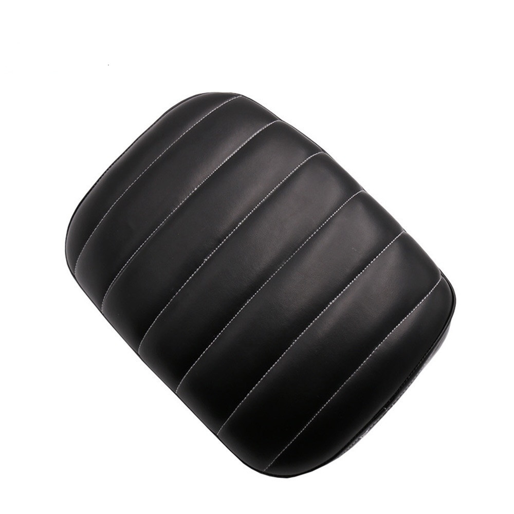 Motorcycle Suction Cup Rear Pillion Passenger Pad Seat for Harley Davidson Bobber Chopper