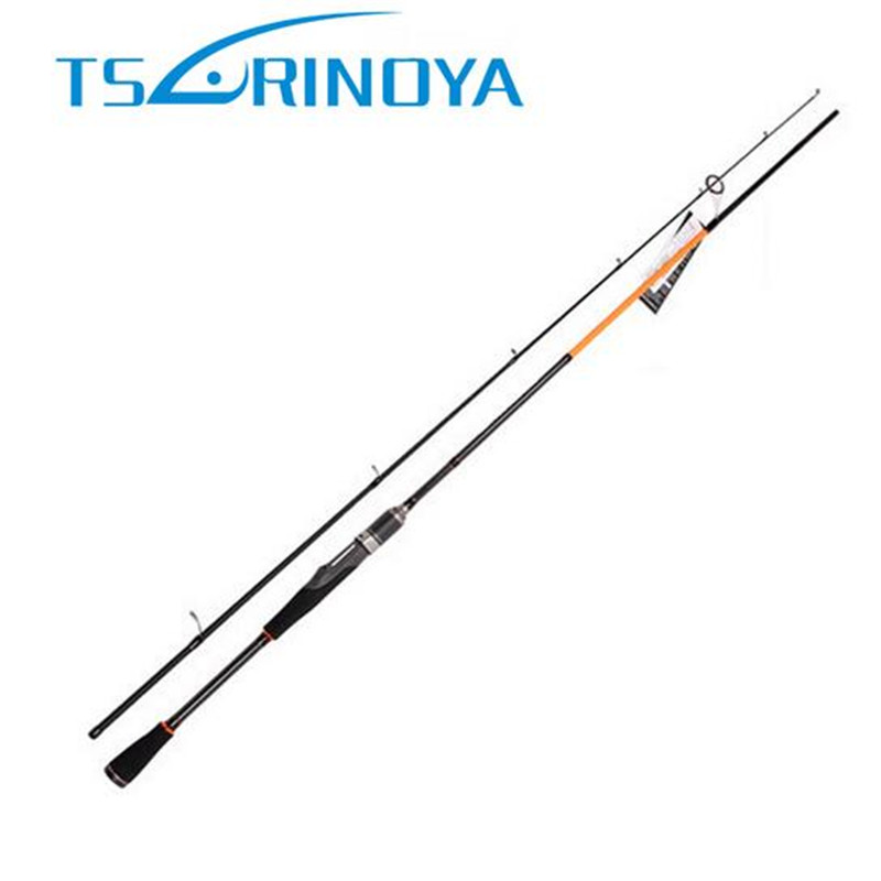 Tsurinoya 2.1m 98% Carbon Casting Rod Power M ML Spinning Fishing Rod FUJI Guide Tackle Lure Rods Canne A Peche Vara De Pesca tsurinoya 2 01m 2 13m proflex ii spinning fishing rod 2 section ml m power lure rod vara de pesca saltwater fishing tackle