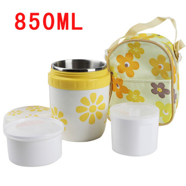 Hot Flower Design Vacuum Bento BoxOffice Thermal Lunch Boxs+2 Container+Bag  sc 1 st  AliExpress.com & Hot Flower Design Vacuum Bento BoxOffice Thermal Lunch Boxs+2 ... Aboutintivar.Com