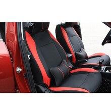Lsrtw2017 Luxury Leather Car Breathable Seat Cushion Mat for Kia Kx Cross lsrtw2017 durable waterproof leather car trunk mat gloor mat for kia kx cross