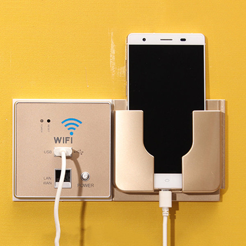 Universal Hanging Cellphone Holder Creative Wall Charging