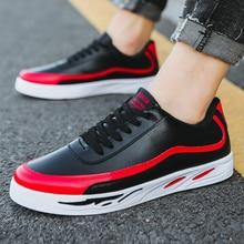 купить 2019 Classic Casual Shoes Men Sneakers Tenis Masculino Low-Cut Casual Men's Shoes Fashion Low To Help Men Flats Male Sneakers дешево
