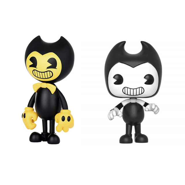 Lensple Bendy and the Ink Machine Figure Bendy Yellow Edition Vinyl Action Figure
