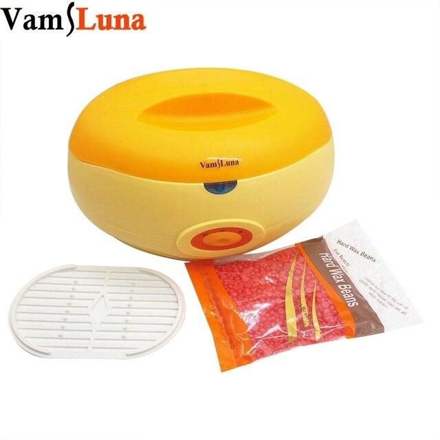 Parafin ağda ısıtıcı Pot 2200 ML 250G Balmumu Fasulye-Termal Parafin Banyosu Isı Tedavisi Yüz, El, ayak ve Epilasyon