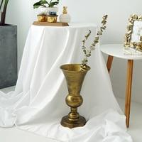 European Vintage style vases black gold home decor wedding party decorative vases flower vases for homes wedding vases HP069