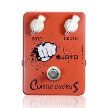 JOYOJF-05 Electric Guitar Effect Pedal True Bypass Design Classic Chorus Guitar Effect Pedal with Aluminum Alloy Material Effect