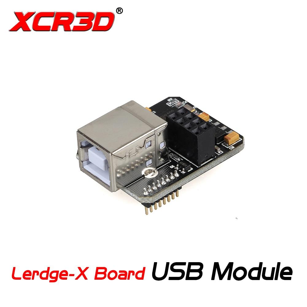 XCR3D 3D Printer Parts Lergde-X Motherboard USB Computer Online Module WIFI Function Extensible LERDGE Controller