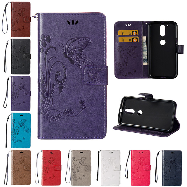 buy popular ef3a8 781f6 US $4.13 8% OFF|Flip Case for Motorola Moto G4 G 4 Plus 4G LTE XT1640  XT1641 XT1642 XT1643 Case Phone Leather Cover for Moto G 4th Gen XT1622-in  Flip ...