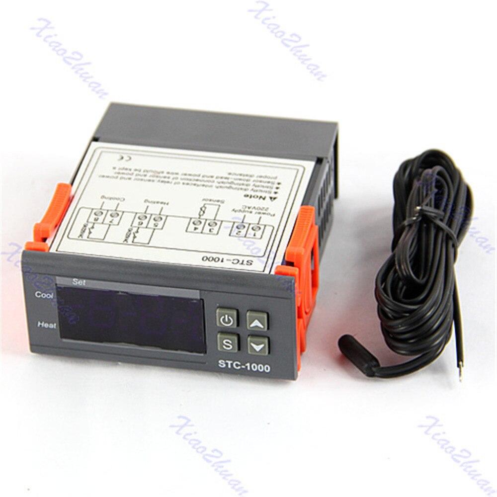 Numérique Régulateur de Température STC-1000 Tout usage 110-220 V AC Pentecôte Capteur