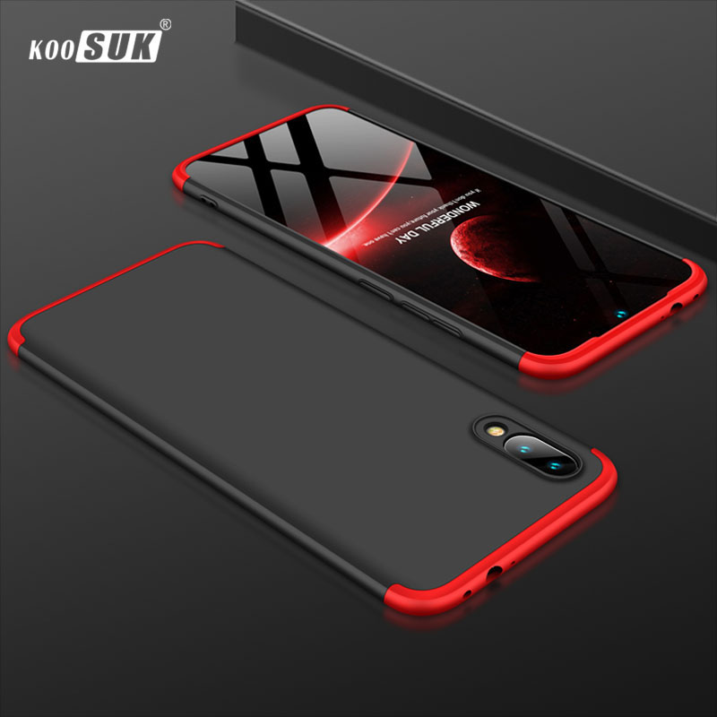 Huawei Y7 Pro 2019 Case Black Cover For Huawei Y7Pro 2019 Phone Shell Luxury Hard Protection Full sFor Huawei Y7 Pro 2019 Coque