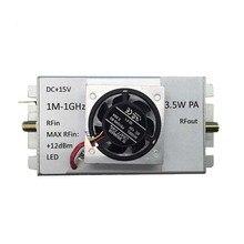 1 M 1000 MHz 3.5W مكبر للصوت HF FM VHF UHF FM الارسال النطاق العريض مضخم للترددات اللاسلكية (RF)