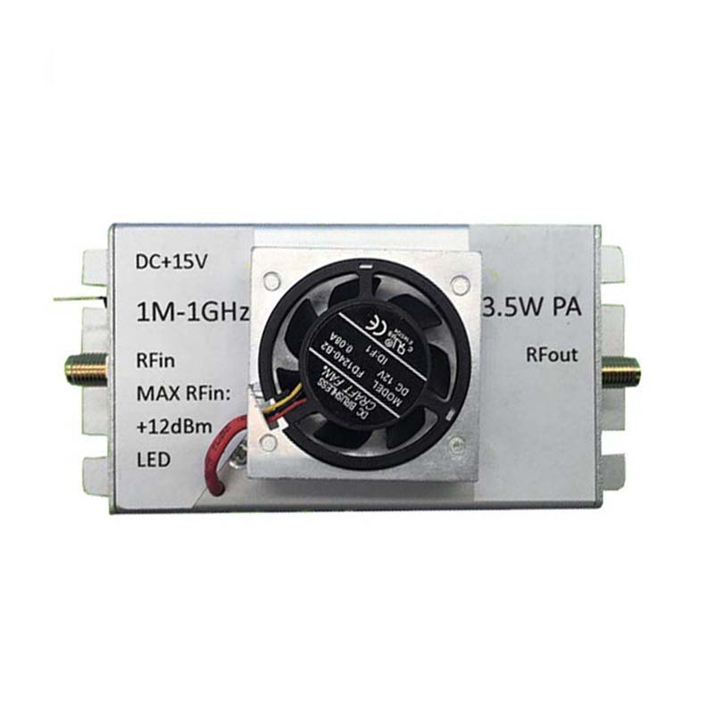 1M 1000MHz 3.5W Amplifier HF FM VHF UHF FM Transmitter Broadband RF Amplifier-in Amplifier from Consumer Electronics