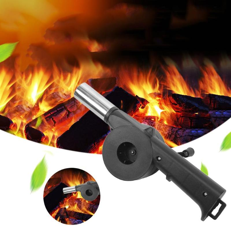 New Sale 1PC BBQ Manual Fan Air Blower Barbecue Fire for Outdoor Party Cooking Picnic Camping Hand Blower Tools