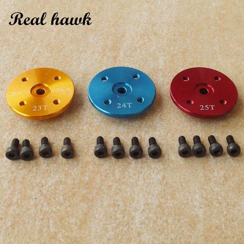 20pcs CNC metal servo arm futaba jr hitec disc arm 23T/24T/25T disc type servo arm for rc aircraft boat car helicopter mother and daughter clothes short sleeved t shirt dresses family matching outfits baby girl clothes girls clothing long dress