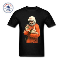 2017 Fashion New Gift Tee Yuri Gagarin CCCP Russian USSR Soviet Union man Moscow Russia Funny T Shirt for men