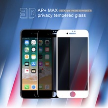 Anti Glare glass for iphone 8 NILLKIN Anti-peeping full cover Tempered Glass Screen Protec