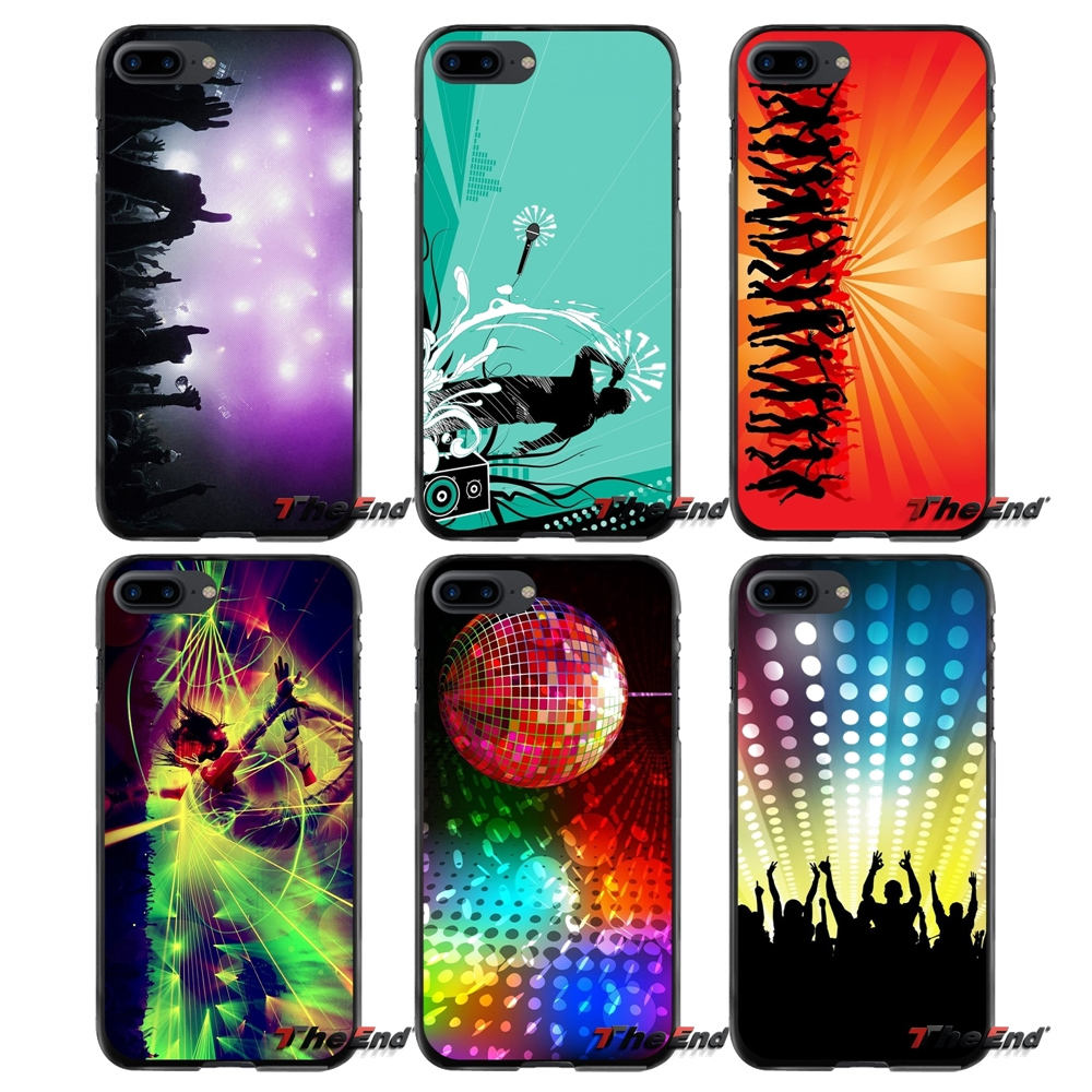 For Apple iPhone 4 4S 5 5S 5C SE 6 6S 7 8 Plus X iPod Touch 4 5 6 Party Colorful Accessories Phone Cases Covers
