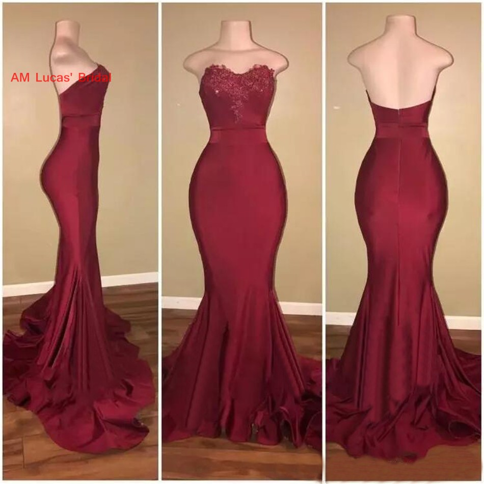 Sexy Mermaid   Evening     Dresses   2019 New Women Formal Gown For Prom Wedding Party   Dresses   Robe De Soiree