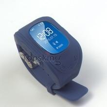 Seguros Para Niños GPS Reloj Teléfono Inteligente OLED Reloj SOS Llamada ubicación Localizador Del Buscador Del Perseguidor para Los Niños Bebé Perdido Anti Monitor Q50