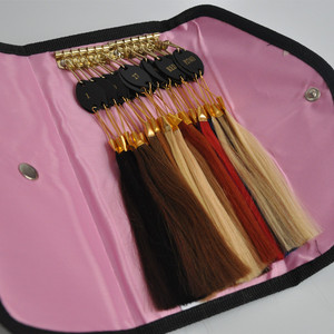 Image 3 - 100% Remy Human Hair Color Rings Color Chart / Hair Extension Tools/Hair Accessory