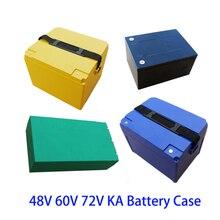 صندوق بطارية ليثيوم 48 فولت و60 فولت و72 فولت و20 أمبير في الساعة 20 أمبير في الساعة 18650 عبوة من الليثيوم لهيكل الخلية وحامل هيكل ذاتي الصنع