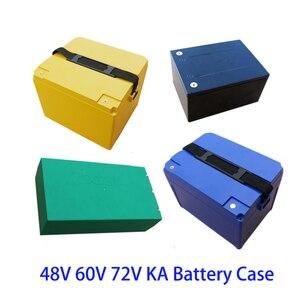 48V 60V 72V KA 20Ah 12Ah Lithium Battery Box 18650 li-ion Pack Cell Housing Case Shell Holder DIY EV eBike E-bike ABS Waterproof(China)