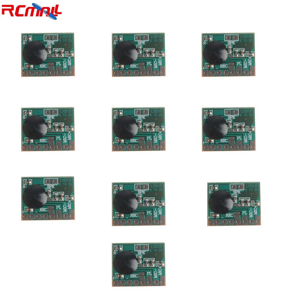 10Pcs/lot ISD1806 6S Sound Recordable Chip IC Voice Music Talking Recorder Module 8ohm Speaker For Electronic Gift Greeting Card